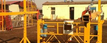 建筑吊篮如何进行搭建: