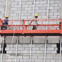 某大型工程外墙施工吊篮实用案例