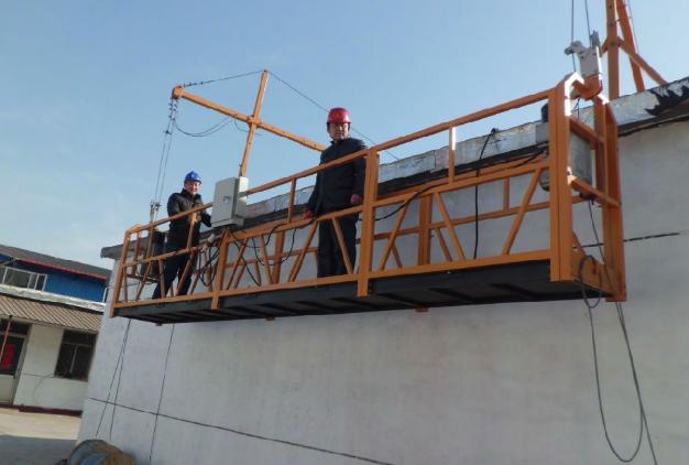 建筑吊篮悬挂平台故障解决方法