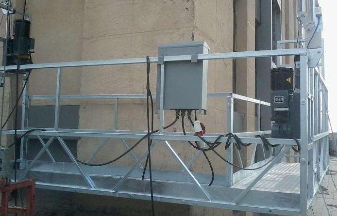 建筑吊篮起粉问题解决方法,为什么会出现下滑现象